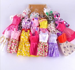 Wholesale 10 Handmade Princess Party Gown Dresses Clothes For quot Barbie Doll Fashion Dolls Accessories Mixed style