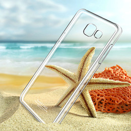 Wholesale New IMAK Brand Clear Crystal Case For Samsung A9 PRO A9100 Case Slim Phone Cover For Samsung Galaxy A9 PRO Case