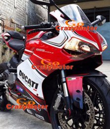 Wholesale 3 Free gifts New Injection Mold ABS bike Fairing Kits Fitment For DUCATI Bodywork set cool style