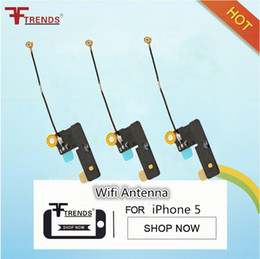 Free Shipping for iPhone 5 Wifi Antenna Repalcement Wi-Fi Flex Cable Repair Parts Wholesale 100pcs lot