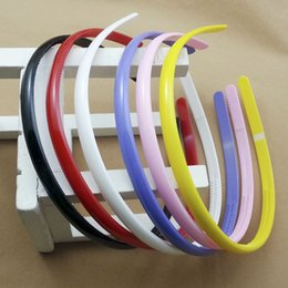Wholesale 0.8cm Wide Cute Candy Color hair Accessories girl Hair Jewelry Plastic hair band 12pcs lot alice headband free shipping