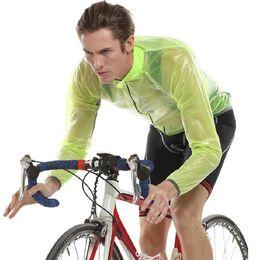 Promotion vélo vélo veste de manteau de pluie Gros-vélo Veste de vélos Manteau de pluie Bike Windbreak mtb Raincoat Imperméable Vêtements Cycling Jersey ropa ciclismo