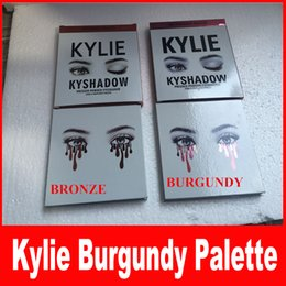 Wholesale THE BURGUNDY PALETTE KYSHADOW Kylie Jenner Newest Kyshadow Eyeshadow Of Your Dreams Makeup Eye Shadow