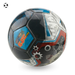 Wholesale high quality factory sale directly china brand size PVC cartoon picture photo football soccer ball