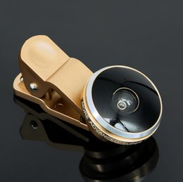 Wholesale Universal degree Clip Super cell phone Fish eye lens Fisheye selfie Camera Len with retail boxes for iPhone Samsung Note hot