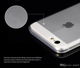 Wholesale 0 mm Slim Ultrathin Phone Case for iphone plus S S Samsung Galaxy S3 S4 S5 S6 New Technic Frosted Soft Cases