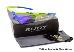 Wholesale 2016 New Fashion RUDY PROJECT GENETYK Sunglasses Men Riding Outdoor Sport Bicycle Cycling Sun Glasses Eyewear Oculos De Sol Masculino