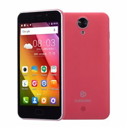 Wholesale Kingzone S2 Cell Phone MTK6580 Quad Core Android WCDMA quot IPS GB RAM GB ROM MP Dual SIm G GPS Smartphone