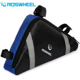 Wholesale icycle Accessories Bicycle Bags Panniers HOT Sale Roswheel cycling bike frame tube tool bag cycle bags pannier basket bycicle accessories