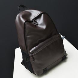 Sac à bandoulière en cuir de haute qualité des femmes noires de style de concepteur de nouveaux de mode de noir de sacs à dos de mochila féminine B45 à partir de hommes bruns sacs à dos fournisseurs