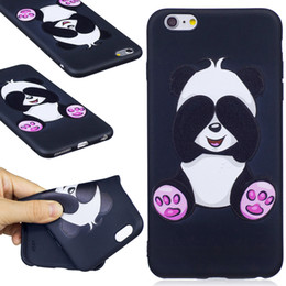 DHL 100Pcs Anti-knock For iPhone 5S 5 6 6S 7 Plus phone case--3D Colorful Cute Cartoon Pattern Printing Cover