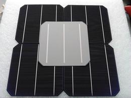 Wholesale W V Effciency Grade A MM Photovoltaic Mono Monocrystalline Silicon Solar Cell x6 For Solar Panel