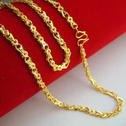 For a long time does not fade imitation gold necklace female gold plated 24K bride wedding jewelry retro wedding atmosphere