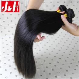 18 black hair à vendre-Grade 8A Virgin Brésilien Péruvien Malaysien Straight Cheveux Humains Paquets de tissage Naturel Noir Indien Cambodgien Brésilien Visage Extensions de cheveux