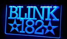 LS222-b Blink 182 Rock n Roll Music Bar Neon Light Sign
