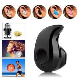 Le sport pc en Ligne-2 X Mini minuscule S530 sans fil Bluetooth V4.0 Sport Stéréo In Ear avec Micro Phone Ecouteurs intra-auriculaires écouteurs pour Samsung iPhone PC
