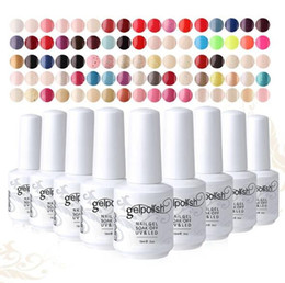 Wholesale Removable UV Phototherapy Long lasting Nail Art Gel Nail Polish Colors Gelpolish ml Women Nail Accessories Varnish