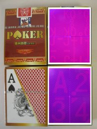 Magic poker home-Customized Jieliu perspective poker card,Plastic cards,Sales perspective contact lenses,Cheat Poker 88x63mm