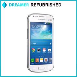 Wholesale 5x Original Refurbished Samsung Galaxy S Duos S7562 inch MP Camera RAM GB ROM Screen Resoution GSM HSDPA Free for shipping