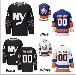 Personalized Men's New York Islander Custom Hockey Premier Jerseys High Quality & Stitched Custom Any Name & Number white