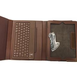 Clavier Bluetooth pour iPad2 / 3/4, étui en cuir mince et protecteur pour iPad avec clavier intégré, marron à partir de ipad2 étui en cuir clavier fabricateur