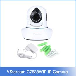 Wholesale VStarcam C7838WIP HD Indoor IP Camera PnP Audio Recording Memory Storage G tf card CCTV Camera Wireless ip Camera P