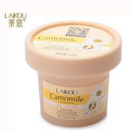 Wholesale LAIKOU Facial Cleanser Natural Organic Facial Exfoliator Exfoliating Cream g Whitening Peeling Cream Gel Face Facial Scrub Removal Y