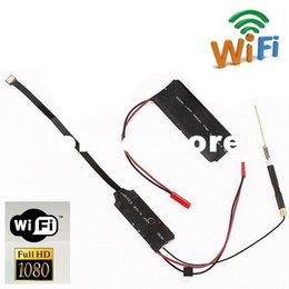 Wholesale S06 HD P Android IOS iphone DVR WIFI Wireless Spy DIY Hidden Camera Module