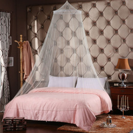 Wholesale Baby Bedding Crib Mosquito Net Baby Bed Mosquito Mesh Hung Dome Curtain Net for Toddler Crib Cot Solid Color
