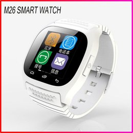 Latest model M26 Sport bluetooth Smart Watch Wristwatch Luxury Wrist Watch with Dial SMS Remind Pedometer