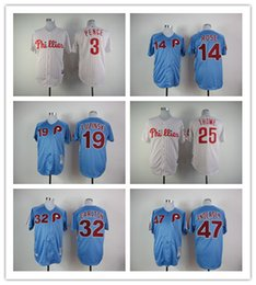 Wholesale MLB baseball Philadelphia Phillies Jerseys PENCE ROSE LUZINSKI THOME CARLTON ANDERSEN freeshipping