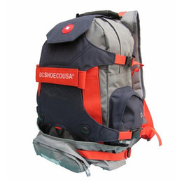 Wholesale 40L Inline Skate Backpack Professional Skating Shoes Bag Outdoor Hiking Movement Backpack Travel Mountaineering Bag Camping