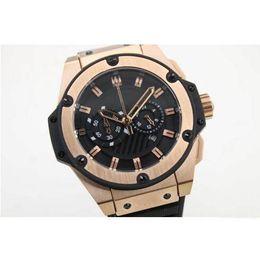 Wholesale 2016 Hot factory supplier Luxury Brand watches men big bang king power gold case watch quartz movement chronograph Watch Mens dress Watches