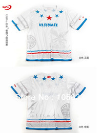 Wholesale-Ultimate Frisbee Sports Jersey Five Star Sublimation Print Free Shipping