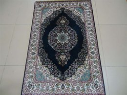 Wholesale Oriental persian ivory mosque prayer rugs Handmade pure silk carpets and rugs prices