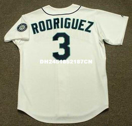 Wholesale Throwback ALEX RODRIGUEZ Seattle Mariners Retro jerseys Throwback Home embroidery Men s baseball jersey