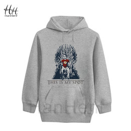 Wholesale HanHent Games Of Thrones Hoodies This Is My Spot Men The Big Bang Theory Shelton Sweatshirts A Song of Ice and Fire Thin Hooded