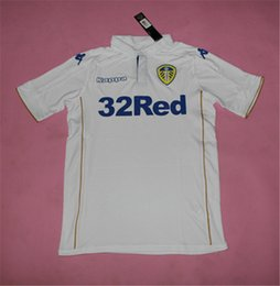 Wholesale 16 Leeds United home white and Away Blue