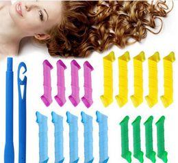 DIY MAGIC LEVERAG Magic Hair Curler Roller Magic Circle Hair Styling Rollers Curlers Leverag perm Hair Care & Styling Tools 100sets