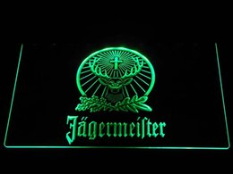 a231 Jagermeister LED Neon Sign Bar Beer Decor Free Shipping Dropshipping Wholesale 7 colors to choose