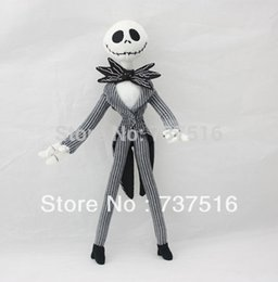 Wholesale Dolls Accessories Dolls The Nightmare Before Christmas Jack Skellington H Plush Doll Toy New doll stuffed toy
