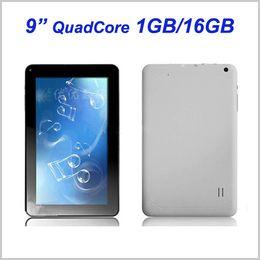 9 Inch Quad Core 1GB RAM 16GB ROM Allwinner A33 Android 4.4 KitKat Tablet PC 1.3GHz Dual Camera Wifi MQ5