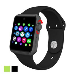 Wholesale DM09 Bluetooth Smart Watch MTK2502C Phone Watches Support SIM Card D ARC HD Screen Camera Wearable SmartWatch Magic Knob Sync For Android