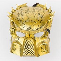 Wholesale Anime Games Movie Archaize avpr Iron Warrior Alien vs Predator Mask Halloween Party Dance Party Masks