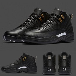 Wholesale With shoes Box High Quality Hot Sale Retro XII Black White The Master Men Basketball Sport Sneakers Shoes