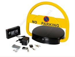 Wholesale Automatic parking barrier with remote control Battery No Parking Cars
