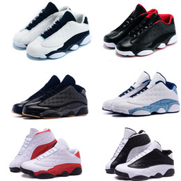 Wholesale online Factory Store Mens Air Retro s Low Retro Basketball Shoes Sneakers Cheap Good Quality XIII Original Quality shoes