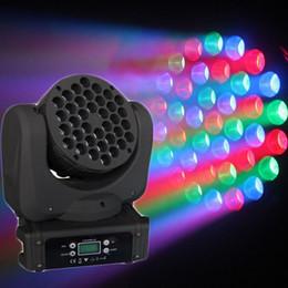 NJ-L36 36 * 3W CREE RGBW LED Beam lavage de lumière de la tête mobile pour Club DJ fête scène d'éclairage à partir de rgbw conduit faisceau mobile de la tête fournisseurs