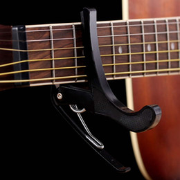 Wholesale Best New Puscard Folk Acoustic Electric Tune Quick Change Trigger Guitar Capo Key Clamp New Wholesales