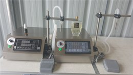 Wholesale CE RoHS GZL Digital Control Liquid Filling Machine perfume filling machine with ml min
